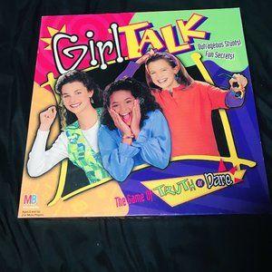 GIRL TALK Game of Truth or Dare Board Game 1995